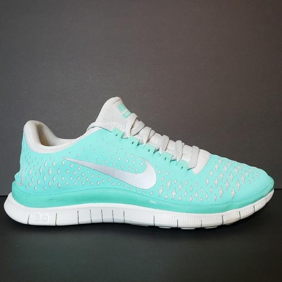 buy popular 5c537 865cb Nike Free Run 3.0 V4 Tiffany Tropical Twist 7.5